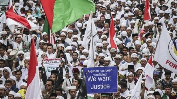 Indonesia advierte contra manifestaciones hinh anh 1