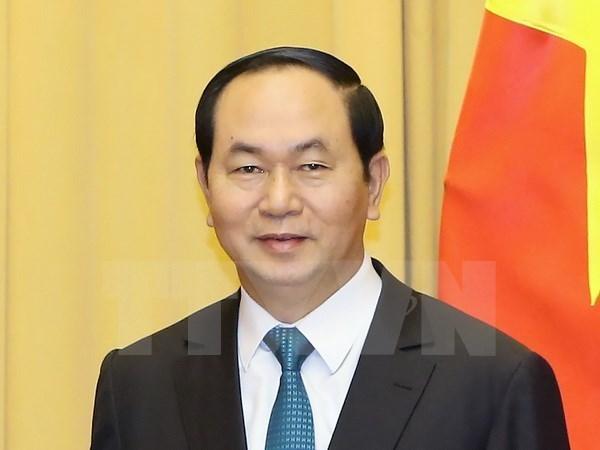 Presidente de Vietnam inicia visita estatal a Italia hinh anh 1