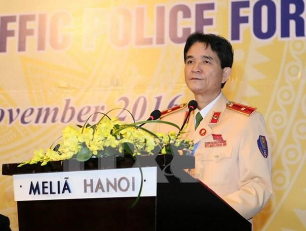Clausuran primer Foro de Policias de transito de ASEAN hinh anh 1