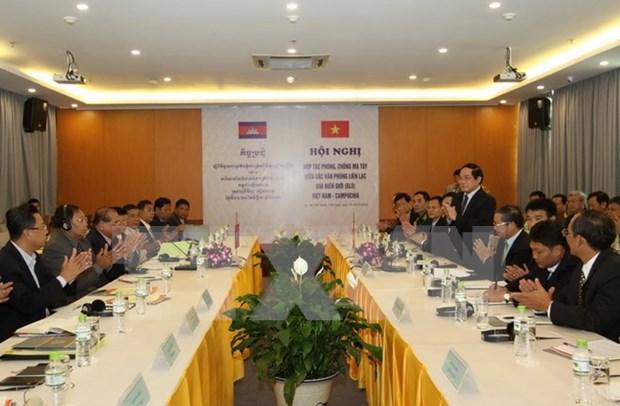 Vietnam y Cambodia estrechan colaboracion contra narcotrafico hinh anh 1