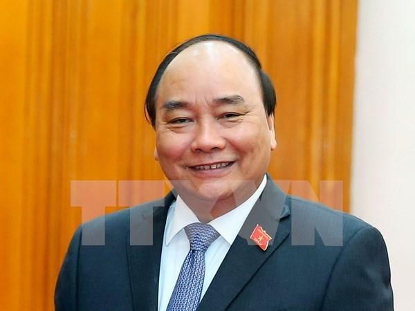 Premier vietnamita asistira a Cumbre de Triangulo de Desarrollo CLV en Camboya hinh anh 1