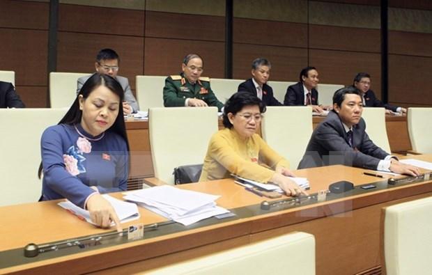 Diputados destacan exitos del segundo periodo de sesiones parlamentarias de Vietnam hinh anh 1