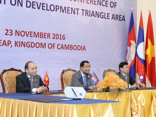 Camboya, Laos y Vietnam promueven conectividad economica hinh anh 1