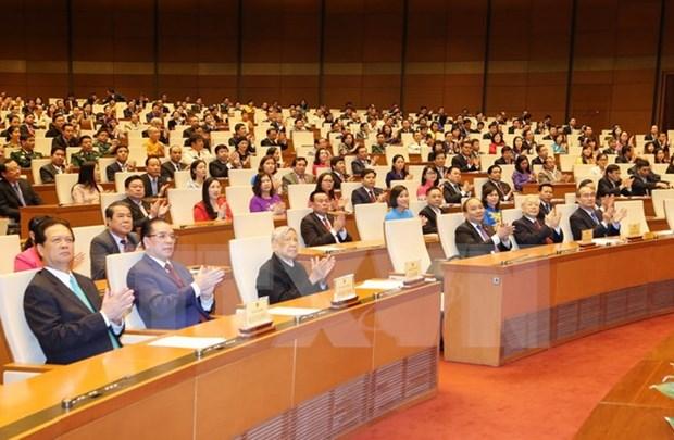 Resultados de sesiones parlamentarias mejoran confianza de masas populares en poder legislativo hinh anh 1