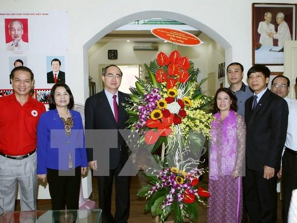 Presidente de organizacion de masas felicita 70 anos de Cruz Roja de Vietnam hinh anh 1