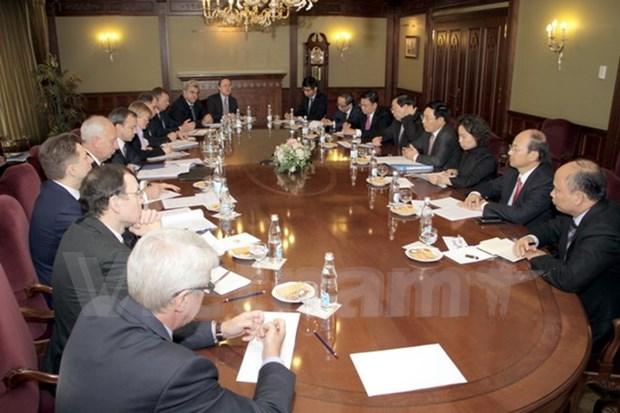 Vietnam y Rusia robustecen relaciones de asociacion estrategica integral hinh anh 1