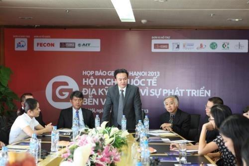 Efectuan conferencia internacional sobre geotecnica en Vietnam hinh anh 1