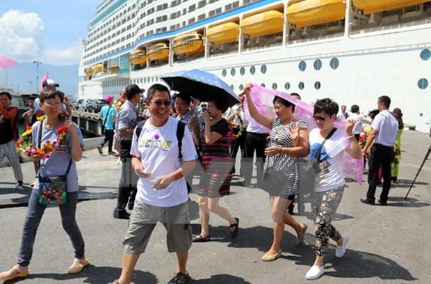 Provincia centrovietnamita recibe crucero lujoso bahameno hinh anh 1