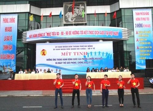 Vietnam responde al Dia Mundial de Prevencion y Lucha contra VIH/SIDA hinh anh 1
