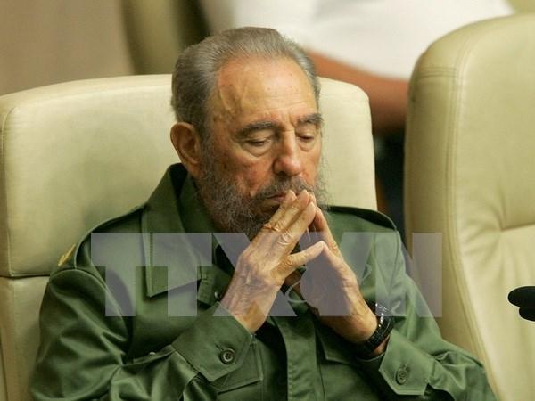 Lideres del mundo expresan sus condolencias por el fallecimiento de Fidel Castro hinh anh 1