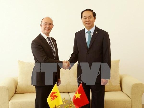 Presidente de Vietnam continua actividades en la Cumbre de la Francofonia hinh anh 1