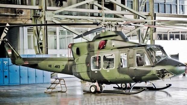 Hallan helicoptero militar perdido en Indonesia hinh anh 1