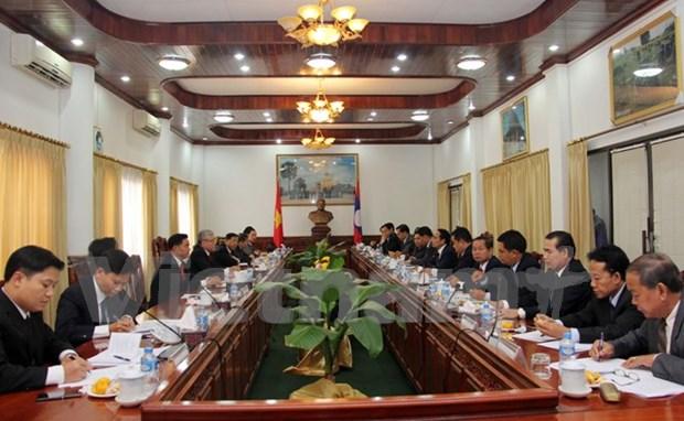 Vietnam y Laos fomentan cooperacion en inspeccion gubernamental hinh anh 1