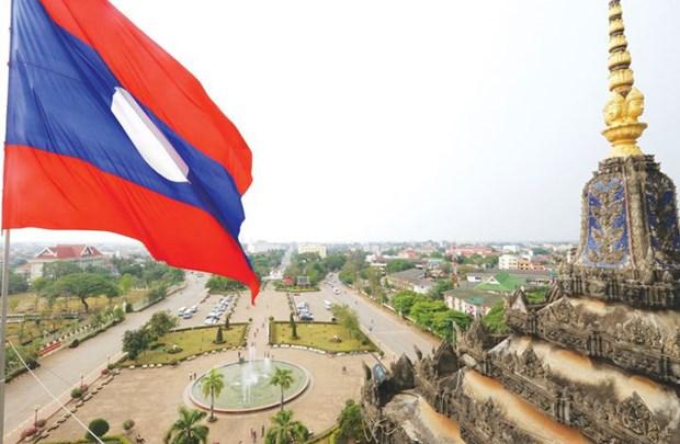 Celebran Dia de Independencia de Laos en Ciudad Ho Chi Minh hinh anh 1