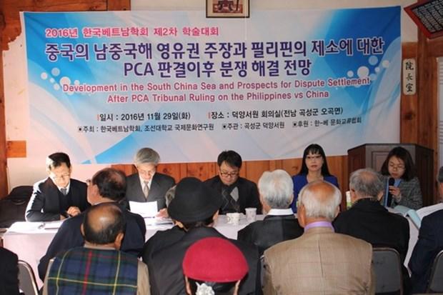 Analizan en Sudcorea situacion en Mar del Este despues del fallo de PCA hinh anh 1