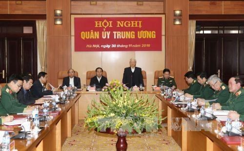 Comite de PCV en fuerzas armadas debe fortalecer confianza estrategica hinh anh 1