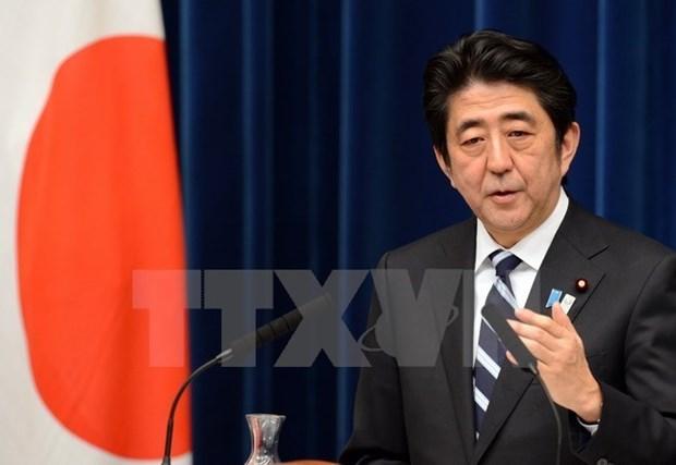 Shinzo Abe desea lazos mas estrechos entre partidos japoneses y vietnamitas hinh anh 1