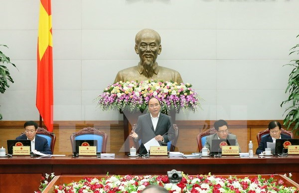 Premier vietnamita urge esfuerzos para cumplir objetivos socioeconomicos de 2016 hinh anh 1