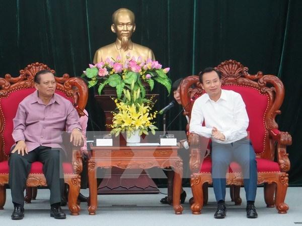 Fortalecen Vietnam y Laos cooperacion interprovincial hinh anh 1