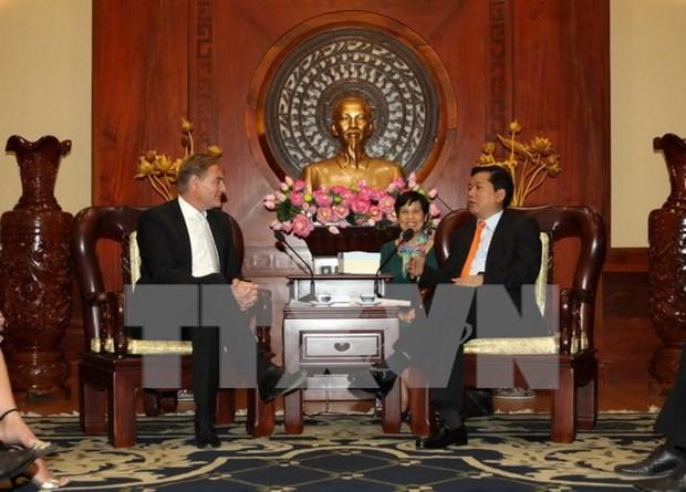 Robustecen Vietnam y Alemania cooperacion interprovincial hinh anh 1