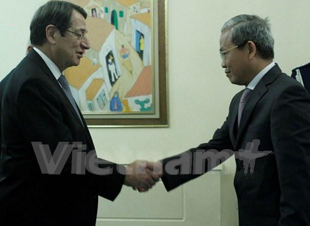 Chipre desea robustecer relaciones multifaceticas con Vietnam hinh anh 1
