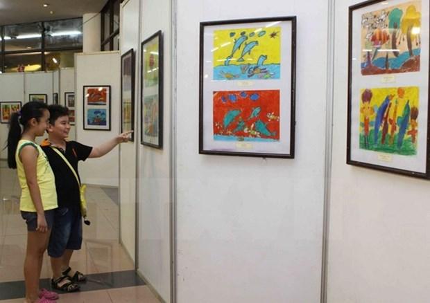 Vietnam participa en Festival de Diarios Ilustrados para Ninos Asiaticos hinh anh 1