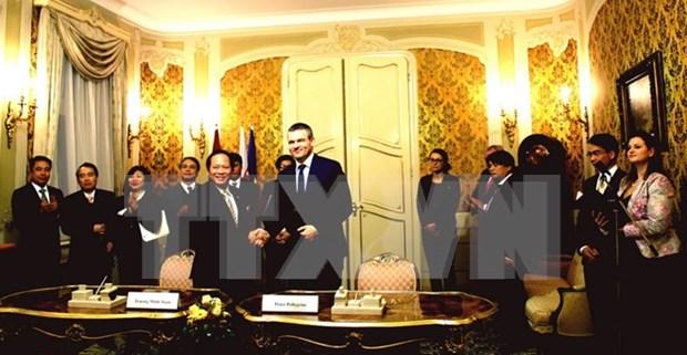 Vietnam y Eslovaquia cooperan para elevar relacion bilateral a nueva altura hinh anh 1