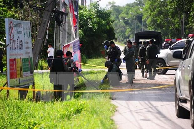 Tailandia arresta a tres sospechosos de ataques con bombas en sitios turisticos hinh anh 1