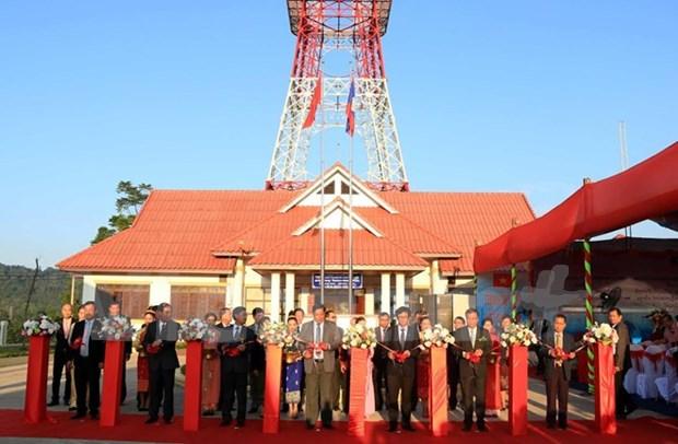 Ayuda Vietnam a Laos en desarrollo de radio-television hinh anh 1