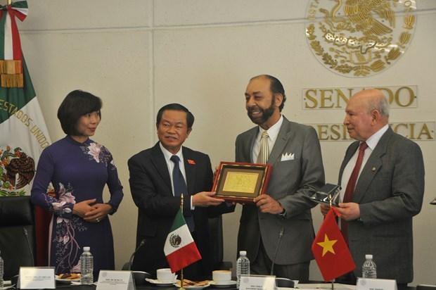 Fomentan Vietnam y Mexico cooperacion legislativa hinh anh 2