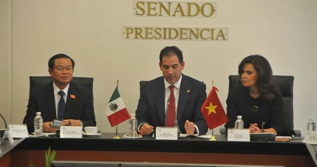 Fomentan Vietnam y Mexico cooperacion legislativa hinh anh 1