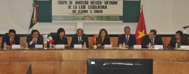 Fomentan Vietnam y Mexico cooperacion legislativa hinh anh 3