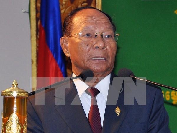 Camboya conmemora aniversario del Frente Unido para el Desarrollo Nacional hinh anh 1