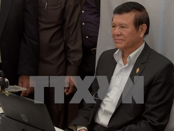 Rey de Camboya concede amnistia a lider opositor hinh anh 1