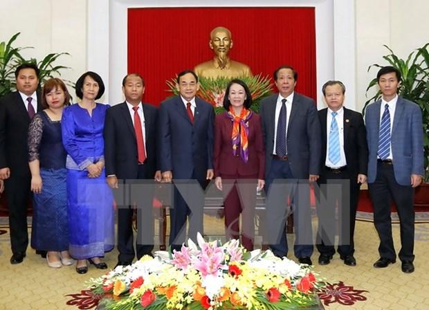 Alto funcionario de Camboya reitera esfuerzos por fomentar nexos con Vietnam hinh anh 1