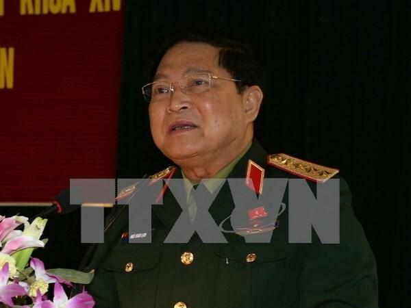 Vietnam busca fomentar cooperacion en defensa con India hinh anh 1