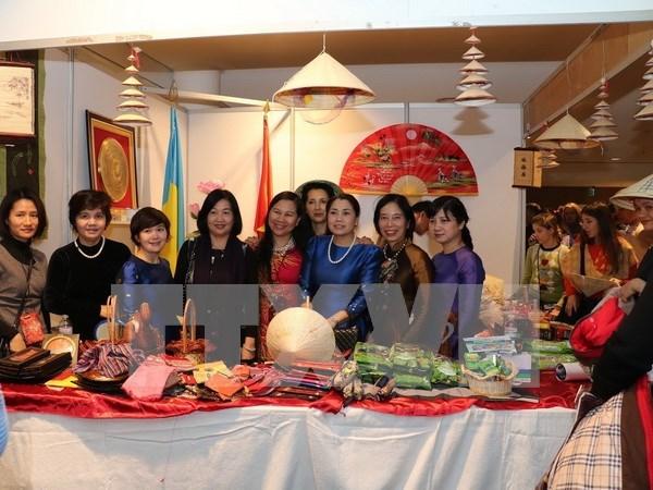 Vietnam participa en actividad caritativa en Ucrania hinh anh 1