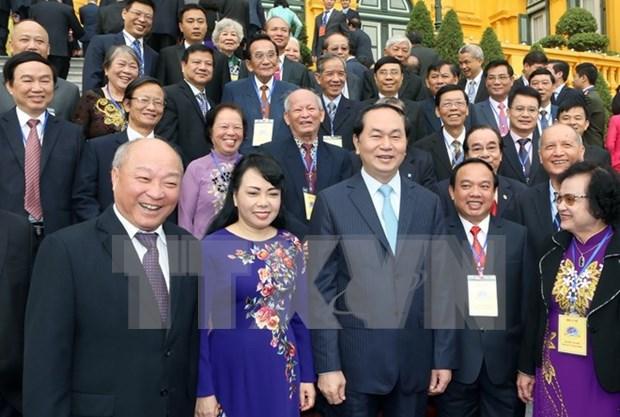 Presidente de Vietnam: El ser humano debe ser centro de salud preventiva hinh anh 1