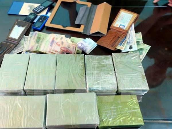 Fortalecen cooperacion contra las drogas entre paises indochinos hinh anh 1