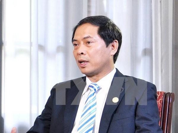 Vietnam y Estonia intercambian consultas politicas hinh anh 1