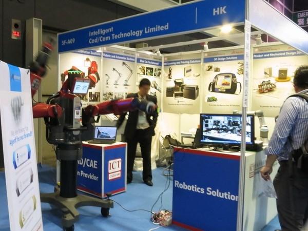 Inauguran exhibicion internacional de maquinarias industriales en Vietnam hinh anh 1
