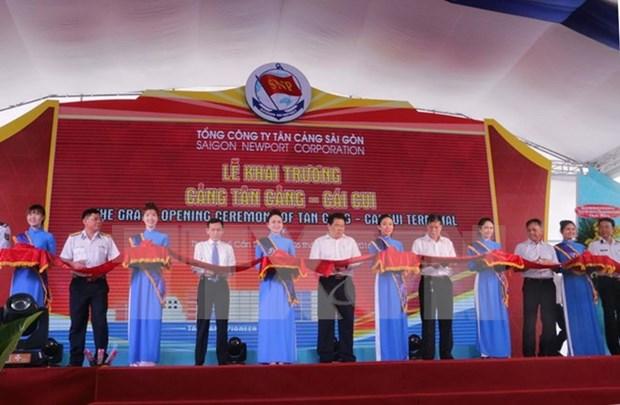 Inauguran puerto maritimo en ciudad surena de Can Tho hinh anh 1