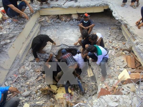 No reporta ninguna victima vietnamita en sismo en Indonesia hinh anh 1