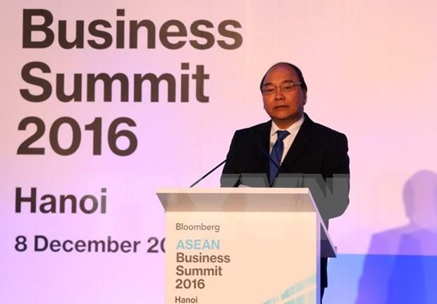 Comunidad empresarial, motor de conectividad economica de ASEAN hinh anh 1