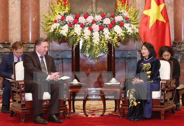 Promueven cooperacion economica entre Kursk y localidades de Vietnam hinh anh 1