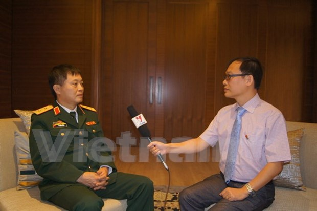 Destacan potencialidades para fomentar cooperacion en defensa Vietnam - India hinh anh 1