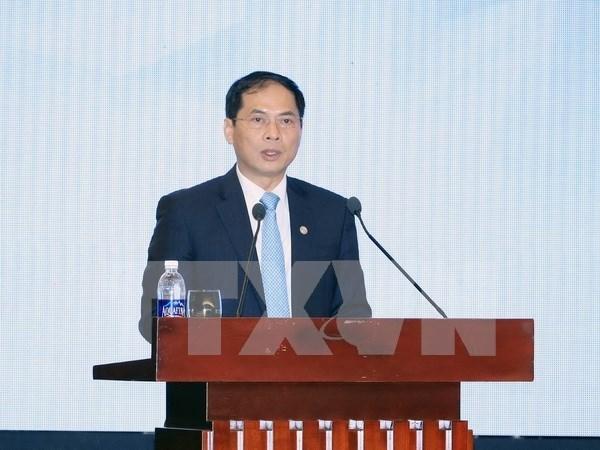 Inauguran Reunion Informal de Altos Funcionarios de APEC en Hanoi hinh anh 1