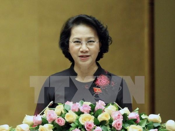 Vietnam asistira a Cumbre de Presidentas de Parlamento hinh anh 1