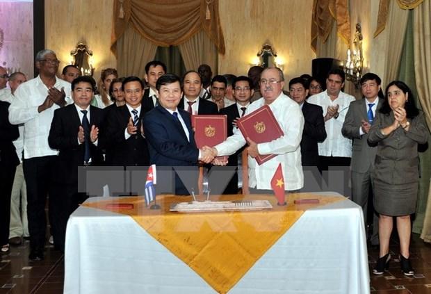 Fiscalias vietnamita y cubana robustecen nexos cooperativos hinh anh 1