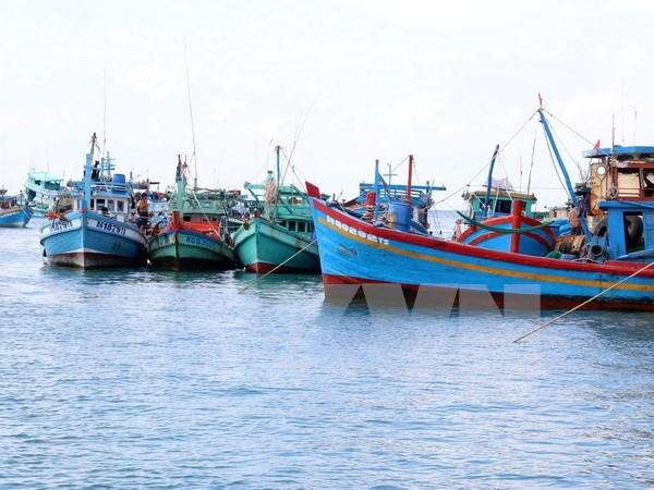 Malasia detiene pesquero con 12 tripulantes vietnamitas hinh anh 1